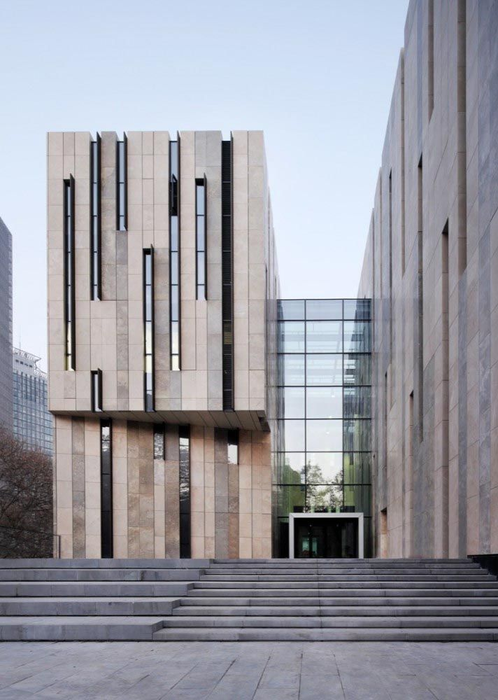 The Façade Of This Peachtree Park Abode Belies Its 9 000: Nanjing Art Museum Exterior Facade Picture