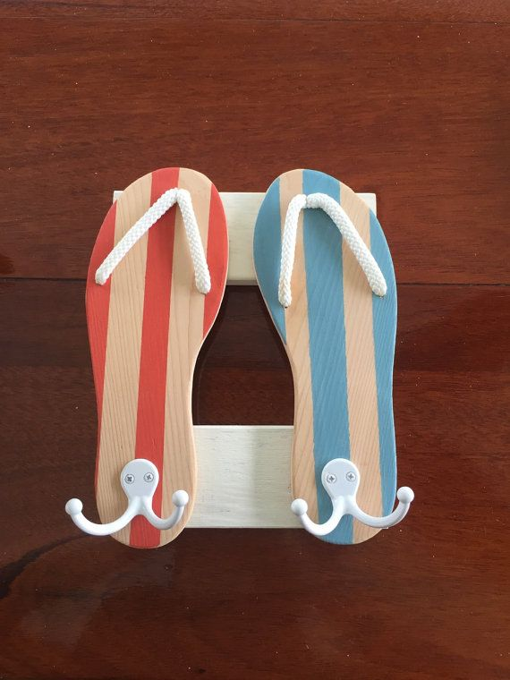 Hey, I found this really awesome Etsy listing at https://www.etsy.com/listing/244295116/flip-flops-towel-rack-beach-sign-beach