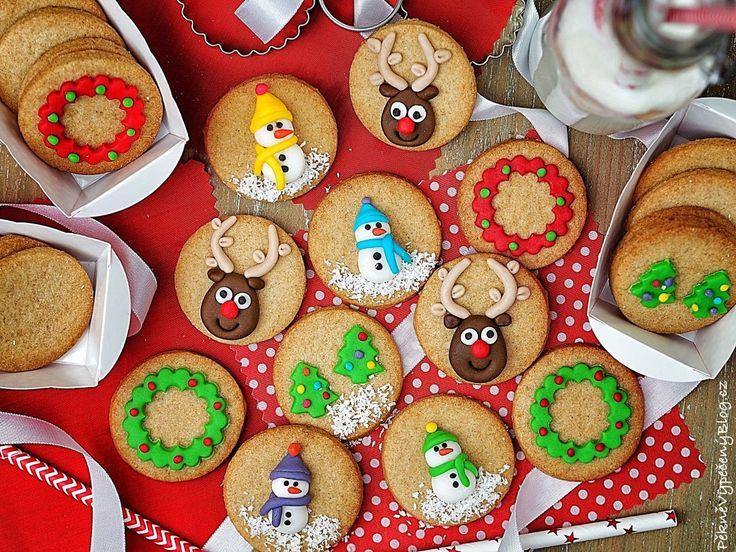 Špaldové sušenky s levandulovým sirupem Spelt cookies with lavender syrup www.peknevypecenyblog.cz