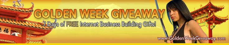 Golden Week Giveaway With Japan's Best Internet Business Experts