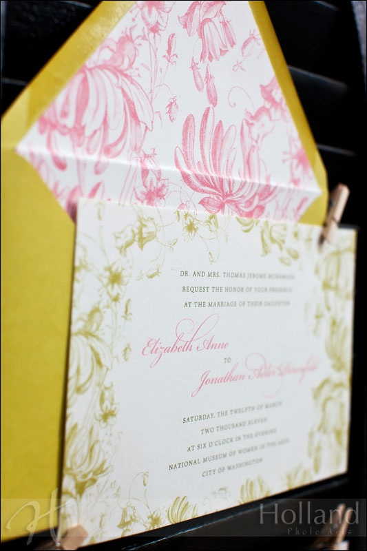 L&J invite by The Dandelion Patch, Photo by Holland Photo Arts