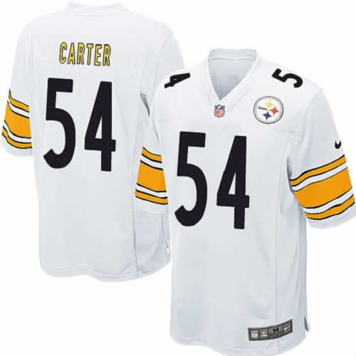 Pittsburgh Steelers #54 Chris Carter Limited White Youth Nike NFL Jersey Sale
