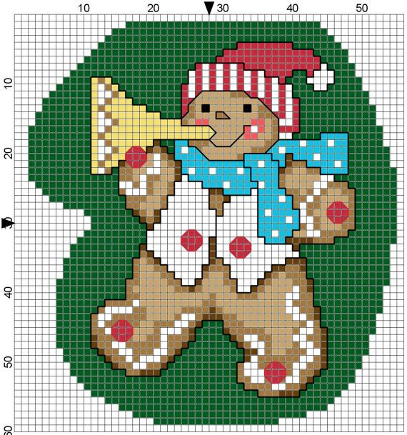 Gingerbread Bugler Mitten by Stitchluv on Etsy