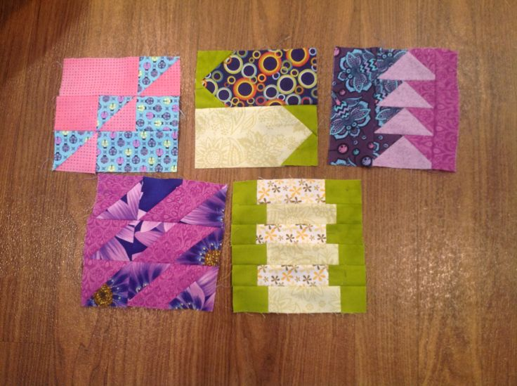 Blocks 52-55 and block 66. Only 15 to go.  Will lay them out again and check what colors should work best.