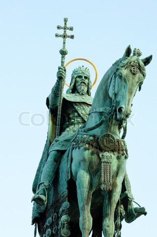 st stephen statue budapest - Google Search
