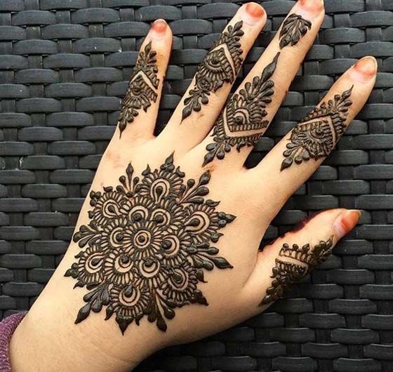 Art of mehndi …
