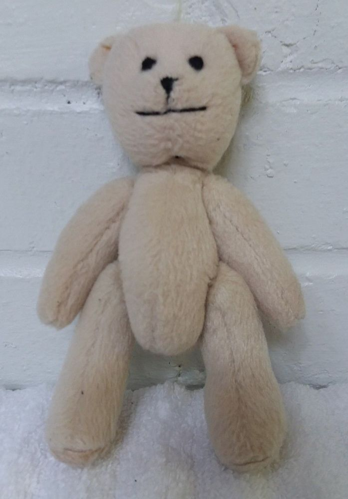 "American Girl Mini Teddy Bear 3640SJ Stuffed Animal Plush 5"" Bitty Baby    (A29) #AmericanGirl"