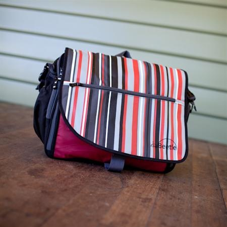 Kids Bags : Little Beetle Nappy Bag ~ Retro Stripes