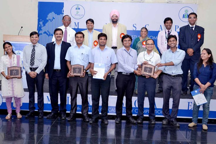 ASM group of Institutes conducted annual case study competition MINDSCAPE predominantly to prepare students for the real time industry situations.