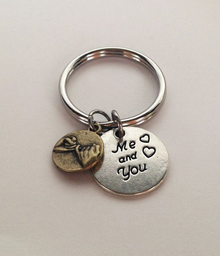 Boyfriend Gift, Gift for Boyfriend, Boyfriend Keychain, Boyfriend Gifts, Anniversary Gift for Boyfriend, Pinky Promise, Girlfriend Gift
