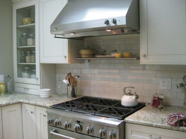 Ornamental Granite Blanco Crackle Subway Tile Kitchens Pinterest