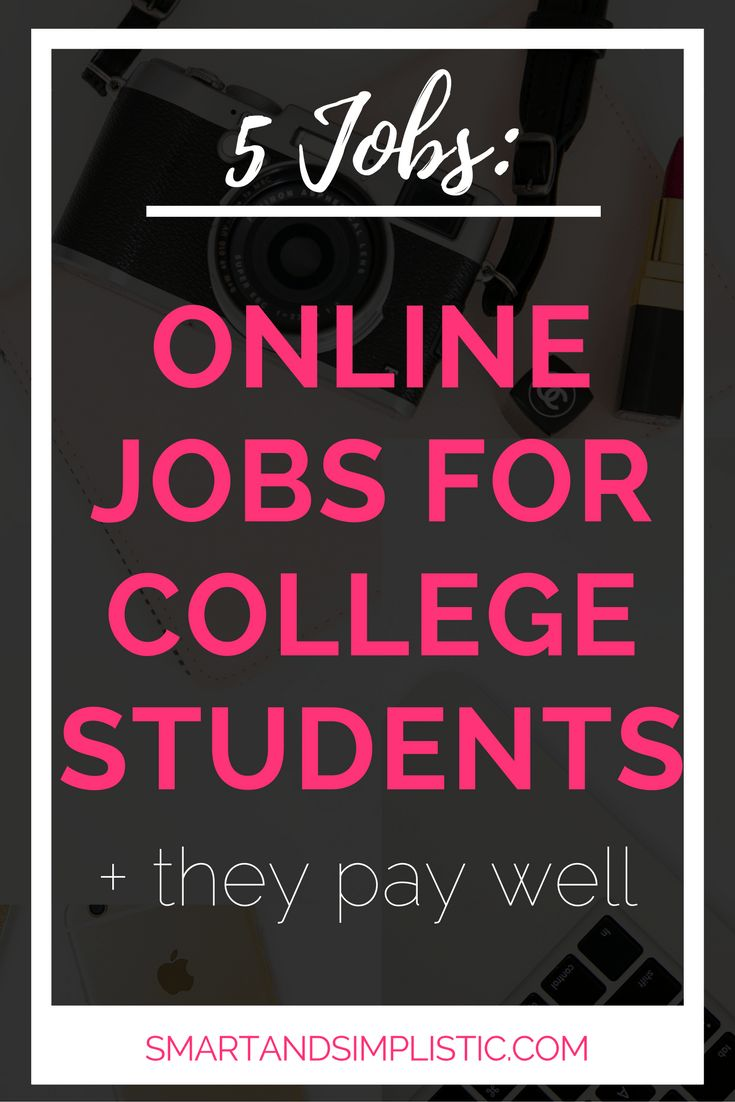 25+ best ideas about Online jobs for students on Pinterest | Same ...