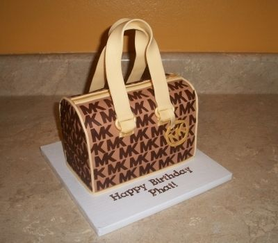 Michael Kors Purse Cake By cakesbykayla on CakeCentral.com