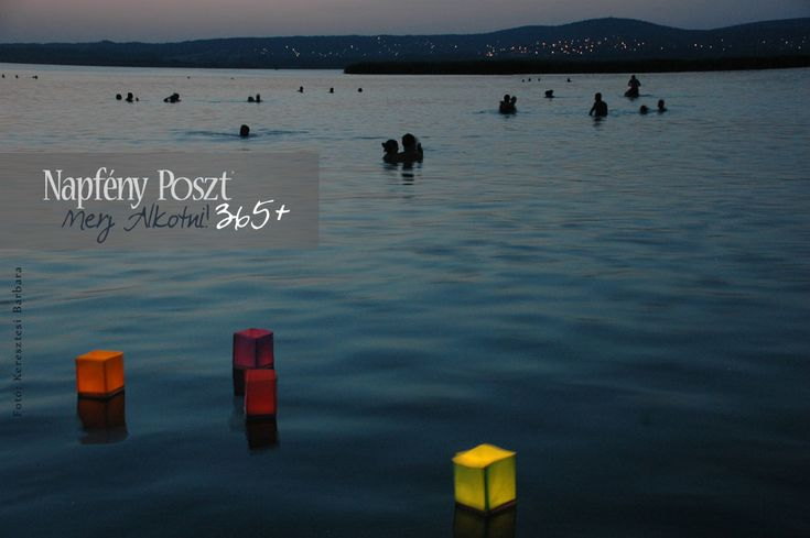Day 130: Floating lanterns in Gárdony