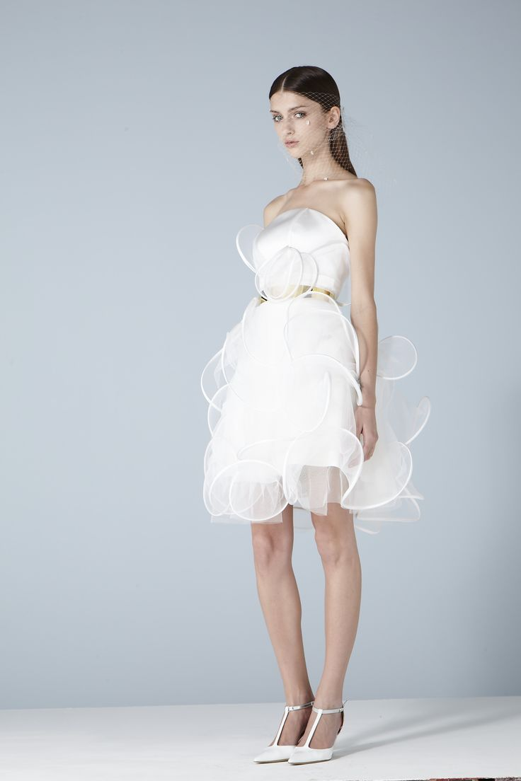Robe Marquise.  Collection MARIÉE  http://www.suzanne-ermann.com