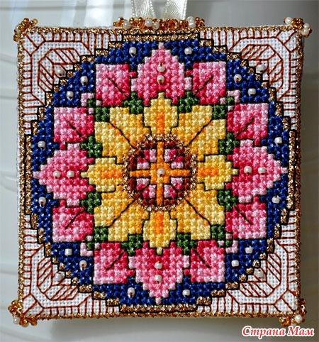 Игольница-книжка Rosa Lotus Mandala: Дневник группы Бискорню и другие кривульки - Страна Мам