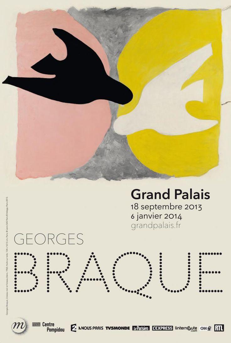 G. Braque au Grand Palais à la rentrée! cette affiche :)