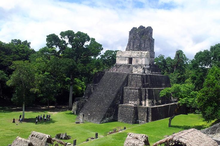 Tikal in Guatemala - One of the most impressive Maya Ruins we have ever been to.