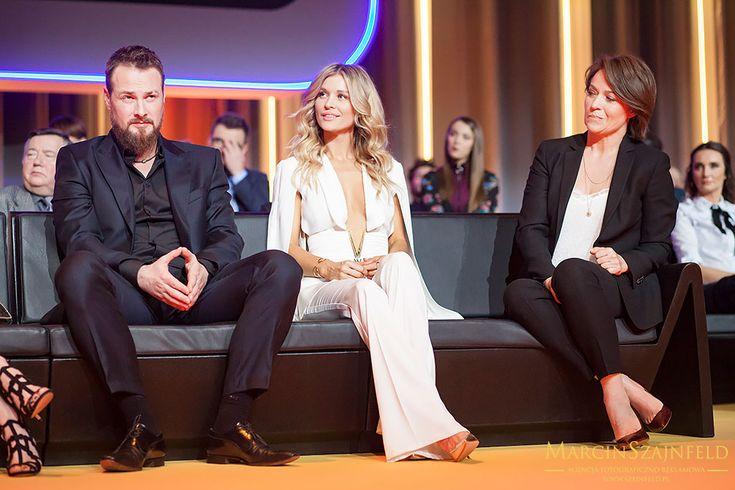 Paweł Małaszyński i Joanna Krupa podczas WIOSENNEJ RAMÓWKI TVN 2017 Więcej zdjęć na http://szajnfeld.pl/wiosenna-ramowka-tvn-2017/