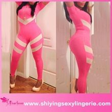 Wholesale high quality bodycon short sleeve womens sexy onesie jumpsuit  Best Seller follow this link http://shopingayo.space