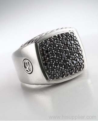 1000 images about men rings on pinterest black onyx for David yurman inspired jewelry rings