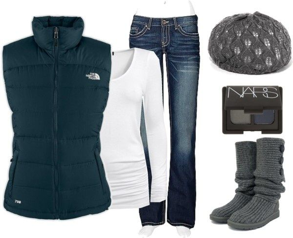 North face vest style dresses