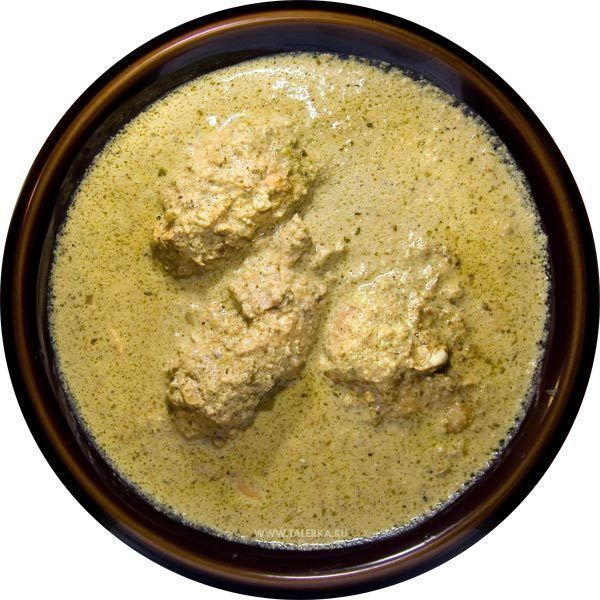 Georgian Chicken With Walnut Sauce - Kotmis Satsivi Recipe from Ahoo