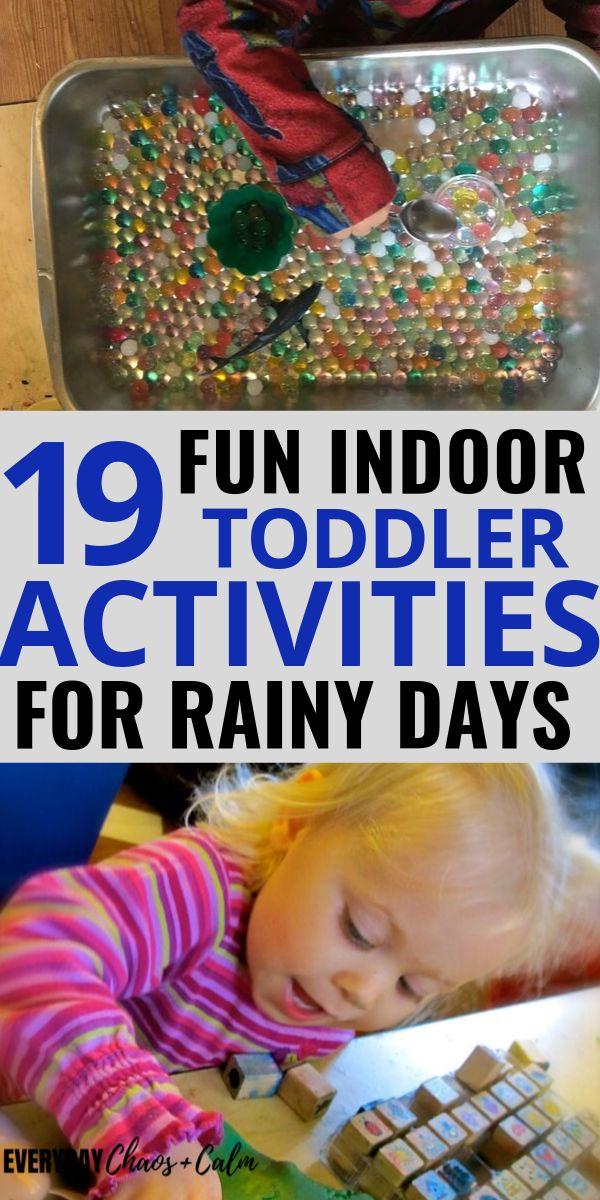 19 Fun Indoor Toddler Activities for Rainy Days – Toddler Activities