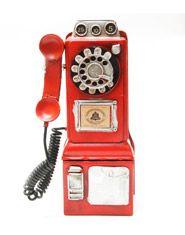 Alcancía teléfono público. COMPRA AQUÍ https://www.giferent.com/productos/regalos-originales-photofolio-alcancia-vintage-telefono-detalle