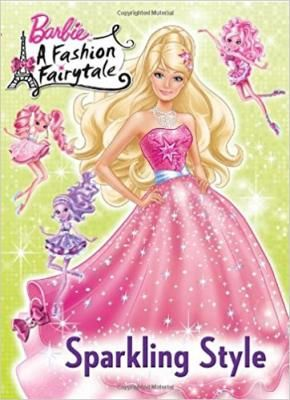 Sparkling Style Barbie Deluxe Coloring Book A By Mary Man Kong
