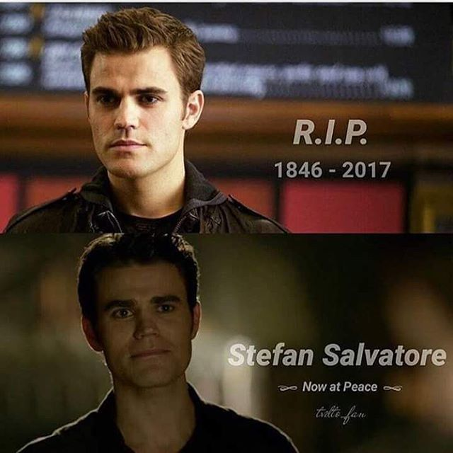 "#TVD 8x16 ""I Was Feeling Epic"" - #RIP #StefanSalvatore"