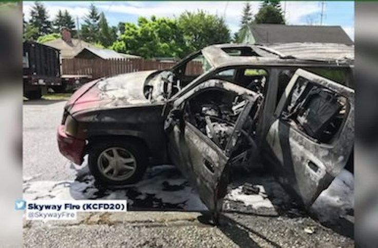 14-year-old sets mom's SUV on fire after taking it to buy fireworks