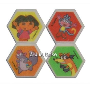 Dora & Friends Cupcake Decorations