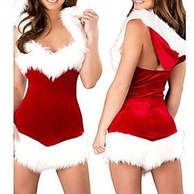[XmasSale]Women's  Christmas Beauty Hooded Dress