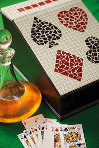 Creative Company | Mosaiek dekoratiewe idees: Kaarthouer
