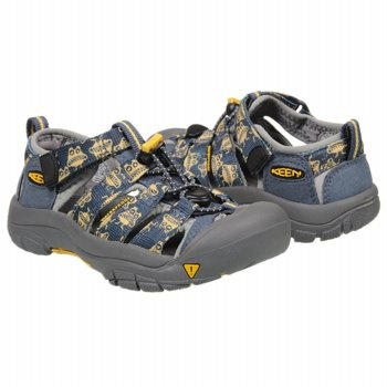 Keen Newport H2 Tod/Pre Sandals (Midnight Monster) - Kids' Sandals - 8.0 M