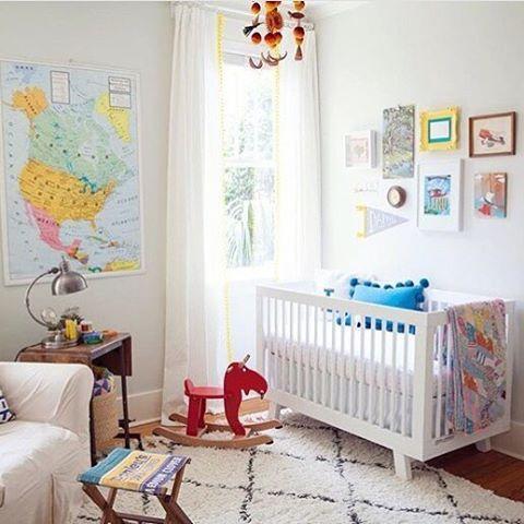 Travel Themed Nursery Decor Away We Go Vintage
