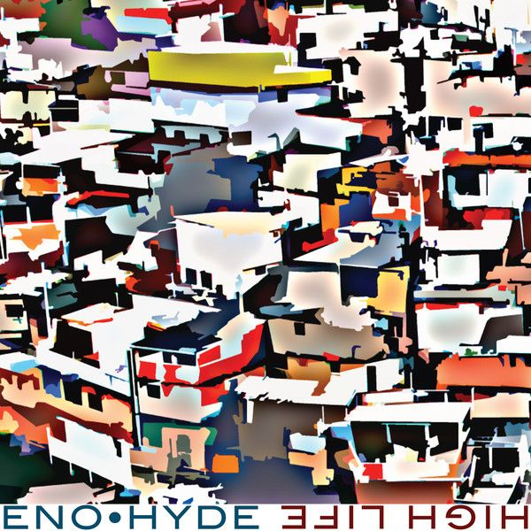 Eno • Hyde (aka Brian Eno & #Underworld's Karl Hyde) only released their debut album, Someday World, earlier this month, but they've already announced the release of a new album, High Life, which is out at the end of June, and shared a new song called #DBF. #NowPlaying #EnoHyde on http://LetsLoop.com/artist/eno-hyde #Music
