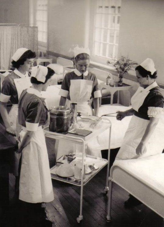 ☤ MD ☞ ☆☆☆ Nurse training. Gallery | Whittingham Hospital.