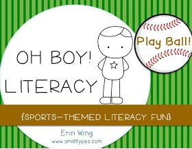 Small Types: Oh Boy! Literacy - literacy tips for boys and loads of links for parents