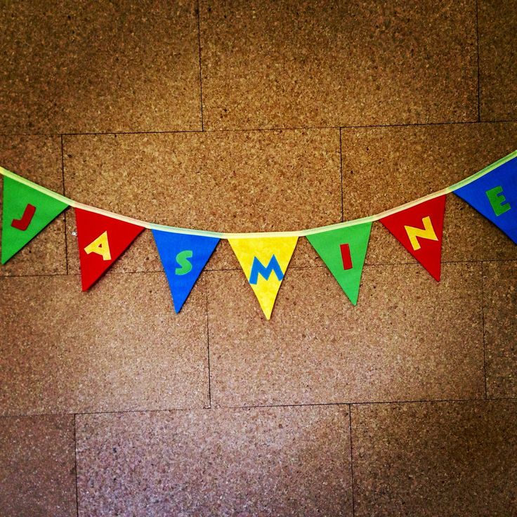 Personalised bunting, personalized bunting, name bunting, party banner, party decoration