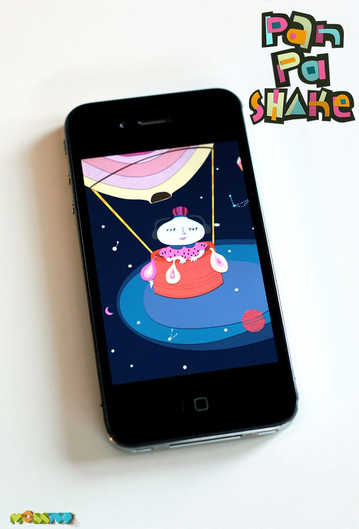 Our Twinkle, Twinkle Star Musical box, perfect for #toddlers. - PanPa Shake -  #Free Music App for kids by MOSSTER