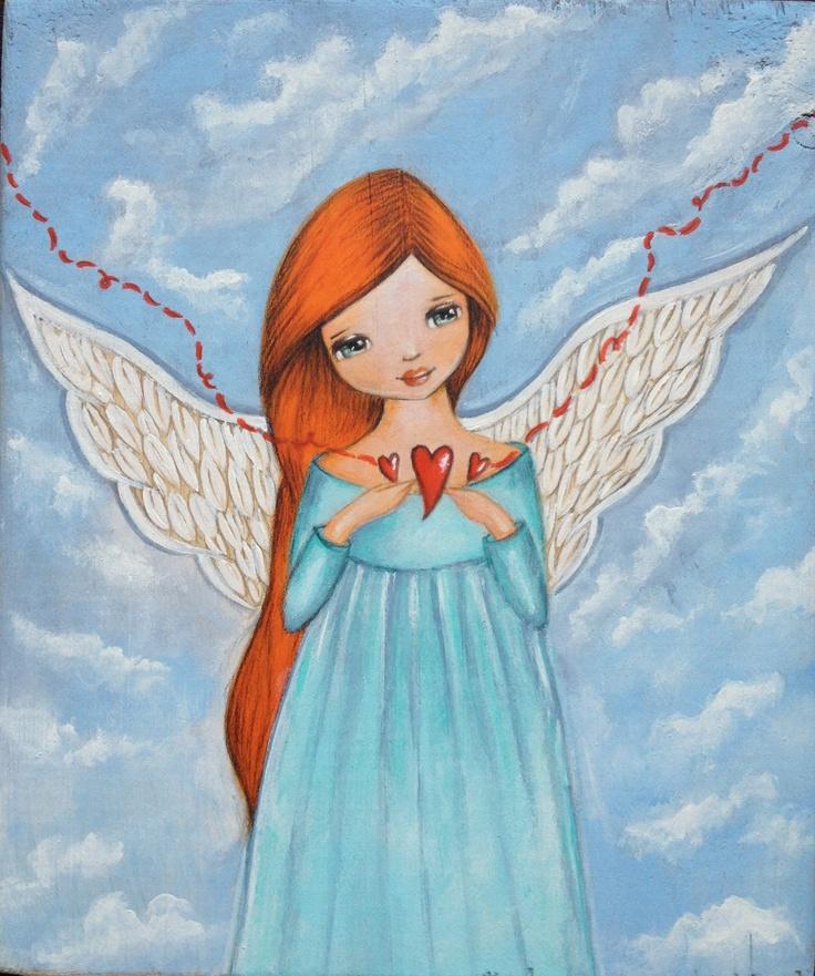 Angel ~ illustration by Ankakus