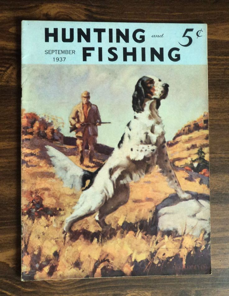 222 Best Vintage Hunting And Fishing Magazine Covers