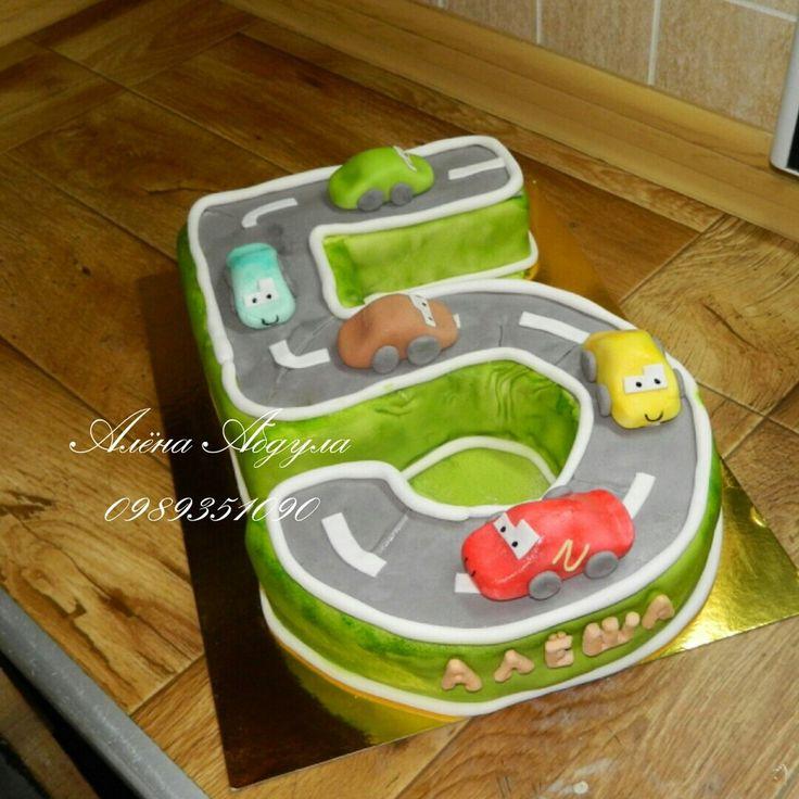 Торты в виде цыфр #торт_на_заказ_харьков #цифры #бисквитный_торт