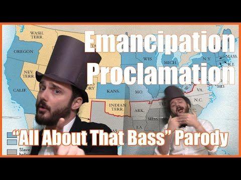 """Emancipation Proclamation (""""All About That Bass"""" Parody) - @MrBettsClass - YouTube"""