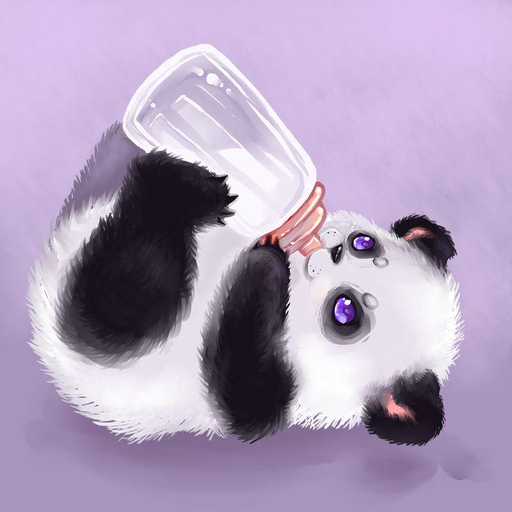 panda by Mechanical2127 on DeviantArt dear sweet Jesus my heart!!! Hhhnnmmgh!