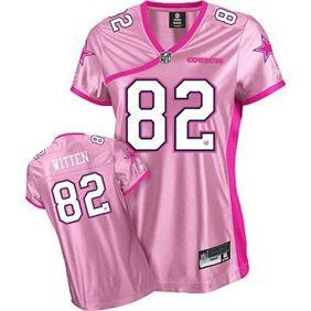 155ad9c1a game jason witten womens jersey dallas cowboys 82 breast cancer ...