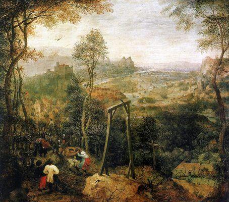 La pie sur le gibet, par Pieter Bruegel