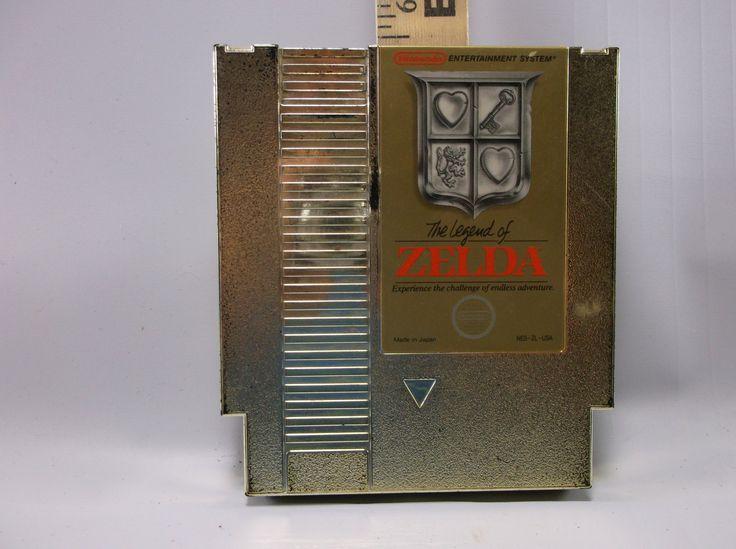 Legend of Zelda Game for Original Nintendo NES System Console Video Game 1987 Japan.epsteam by retroricks on Etsy